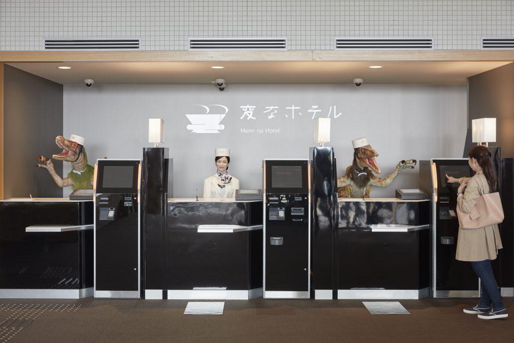 © HUISTEN BOSCH - Roboter-Hotel in Japan