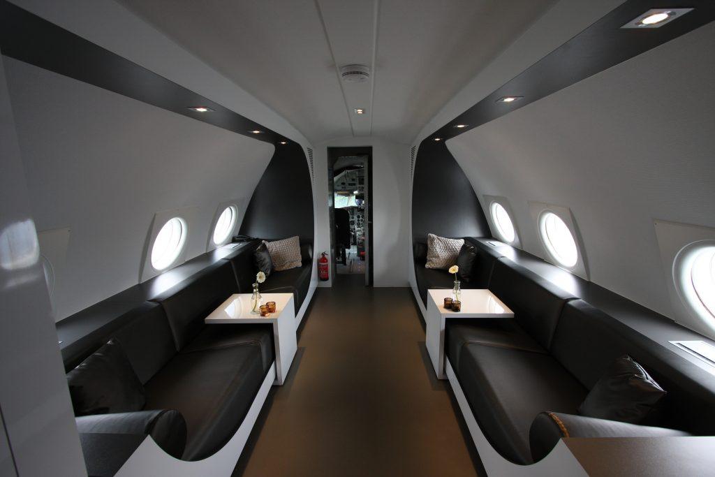 Flugzeug Suite Niederlande