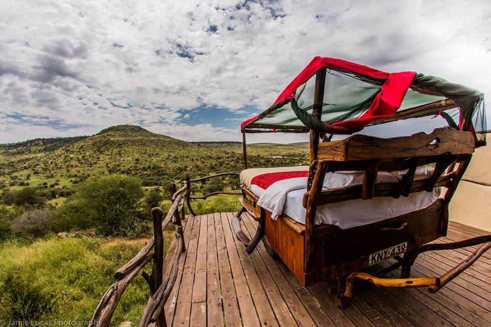 Ferienlager Zelt Kenia