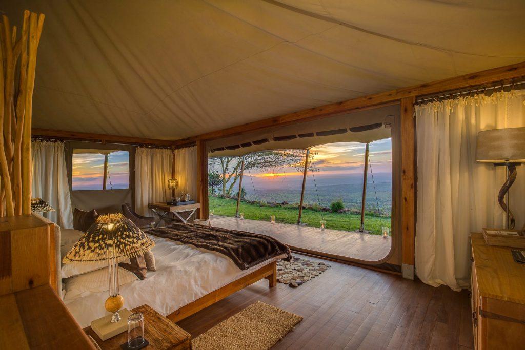 Loisaba Hotel in Kenia - Ferienlager Zelt