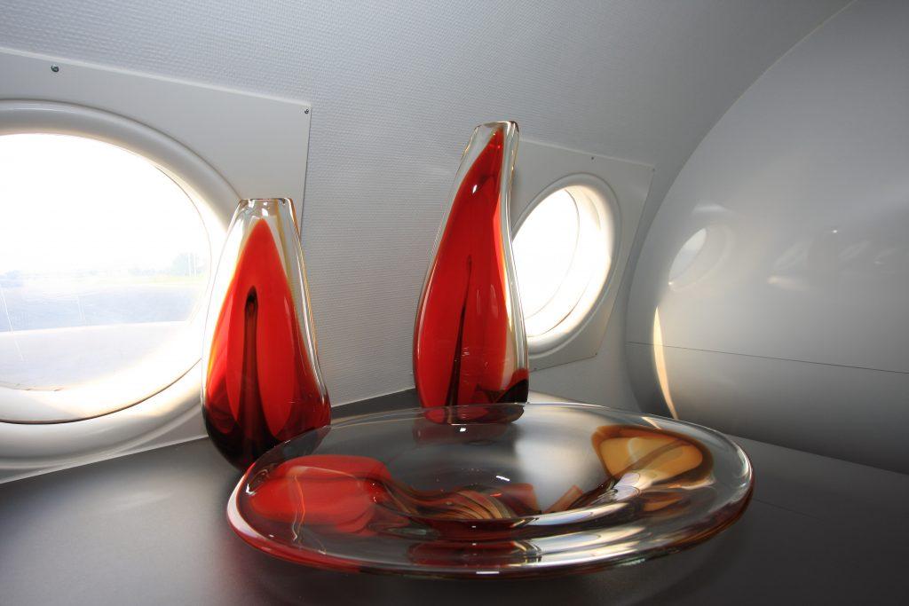 Übernachten in einem Flugzeug