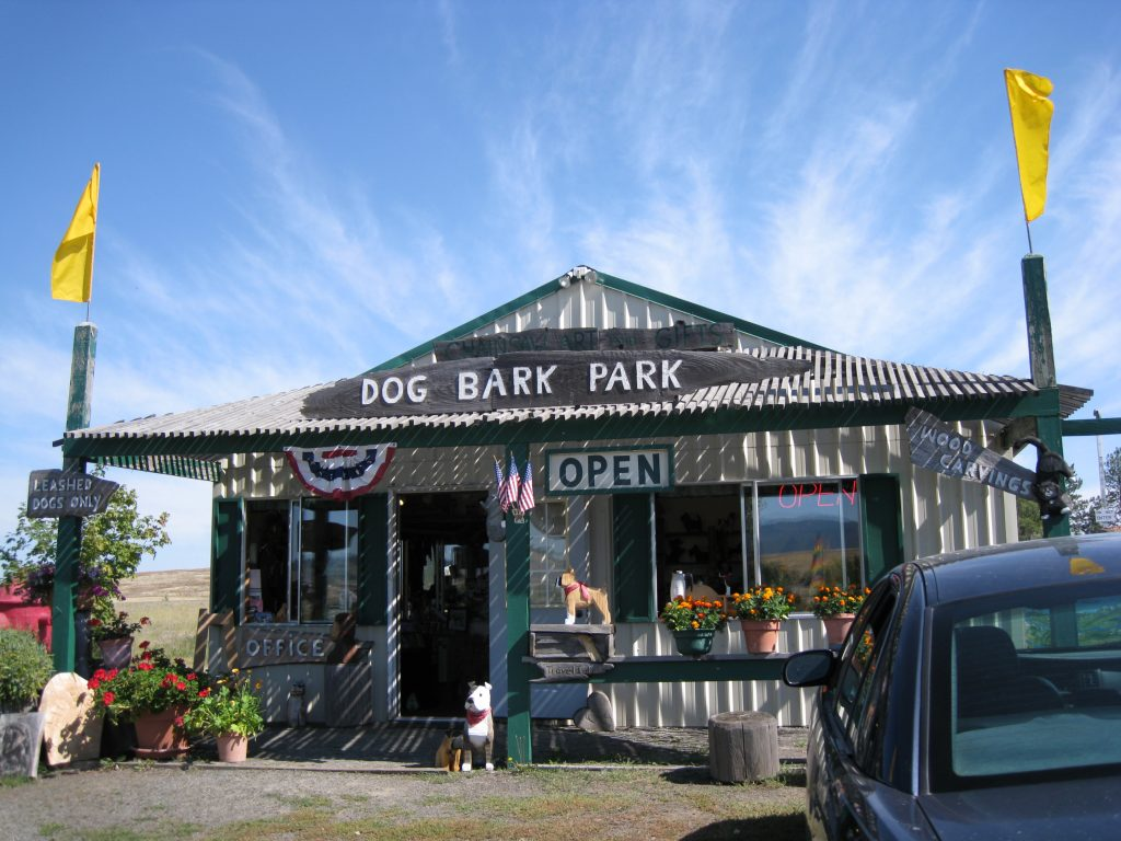 Dog Bark Park Office & Giftshop