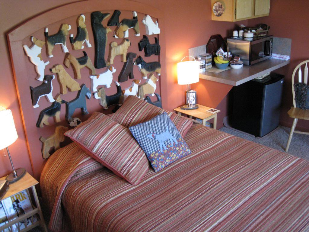 hotel dog bark park inn idaho