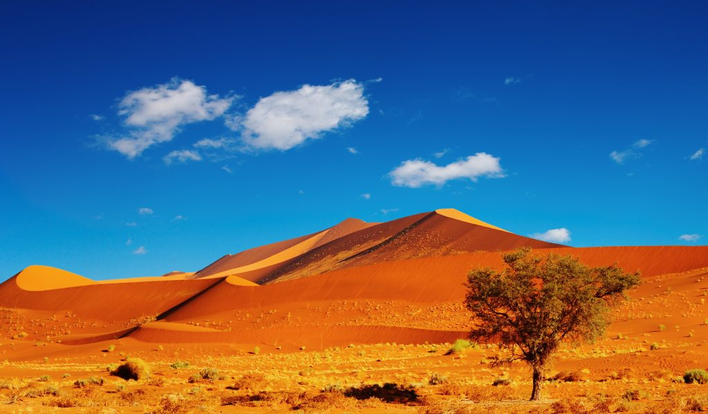 Dunes of Namib Desert, Sossusvlei, Namibia