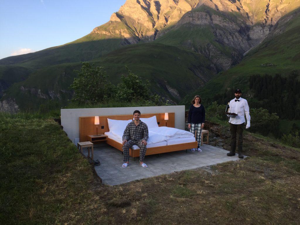 Null Stern Hotel in der Schweiz