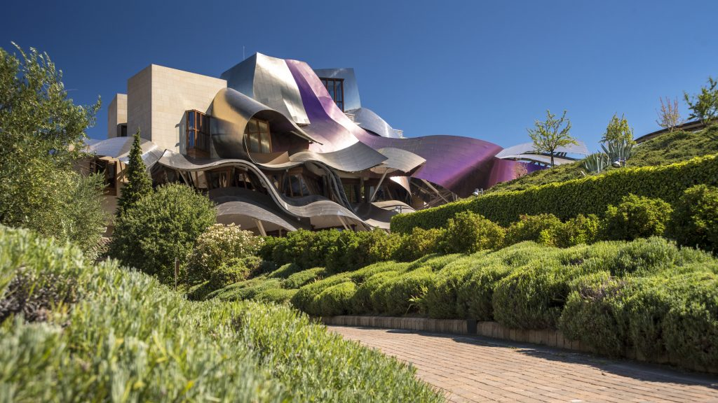 hotel marques de riscal architektur