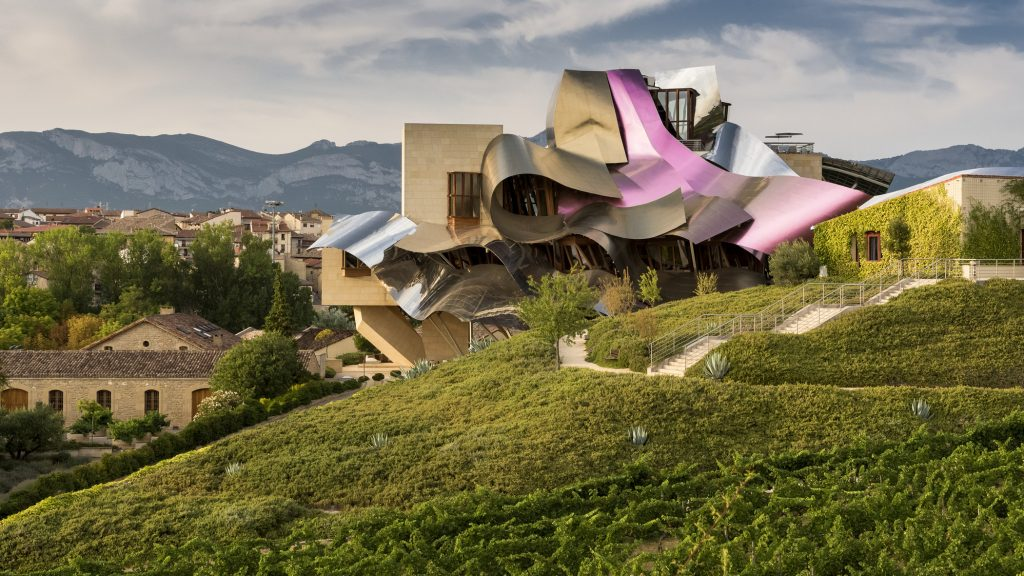 Marques de riscal hotel architektur