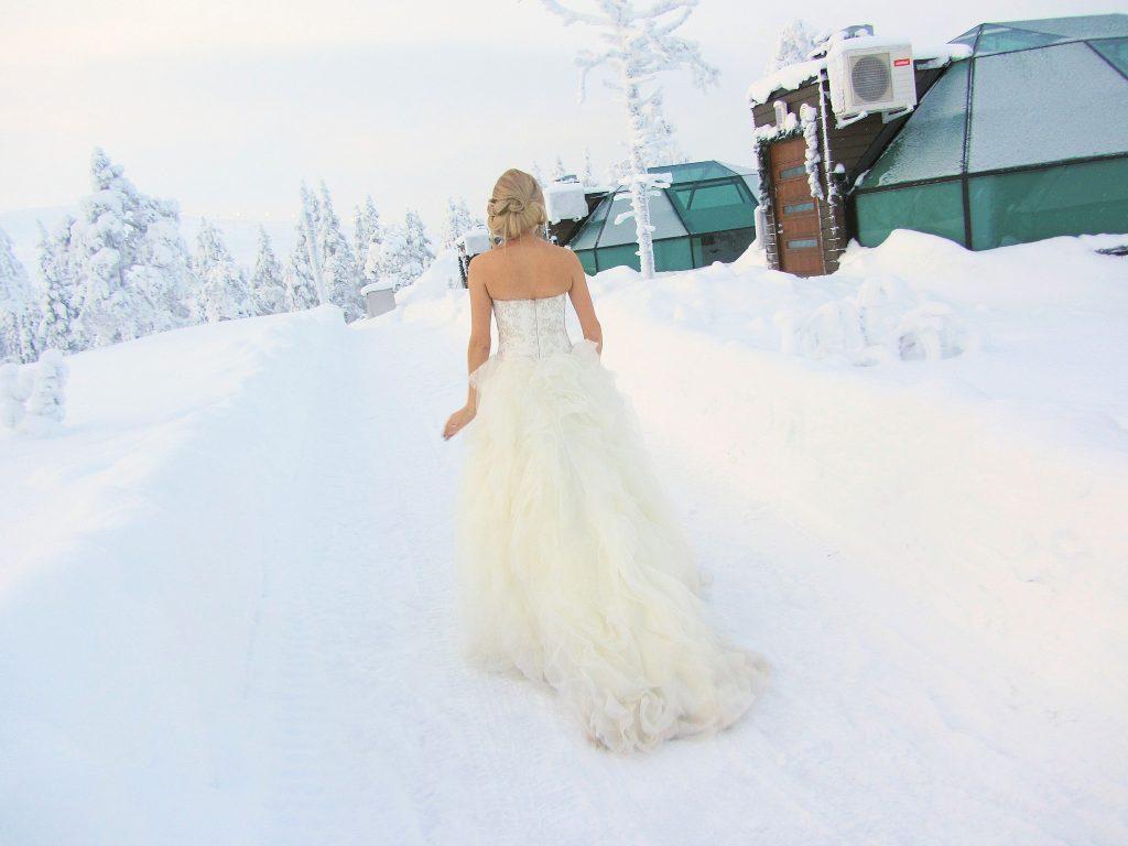 Glasiglu Polarlichter Finnland