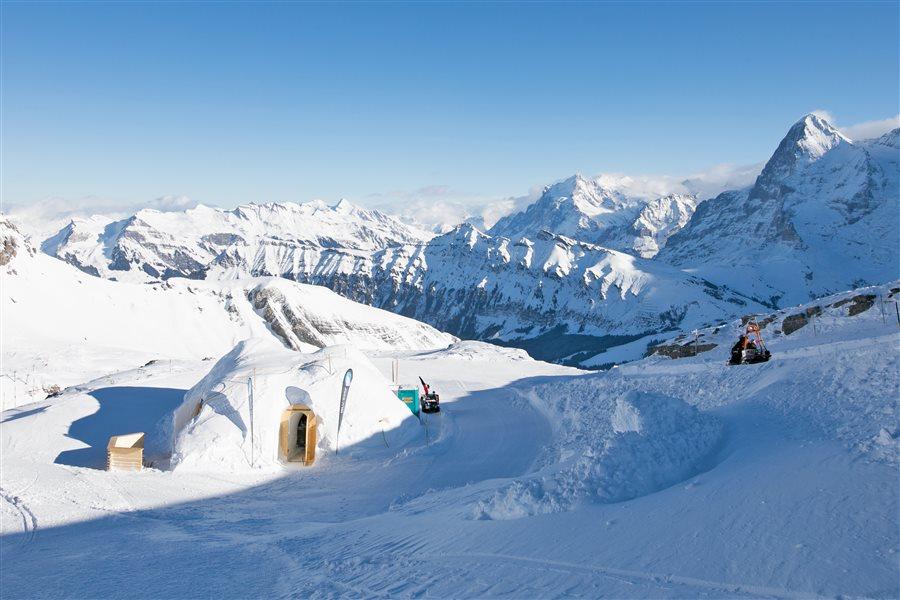 Eishotel Schweiz
