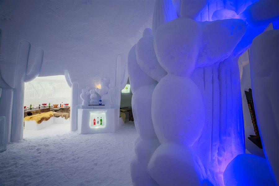 Eis Iglu Schweiz