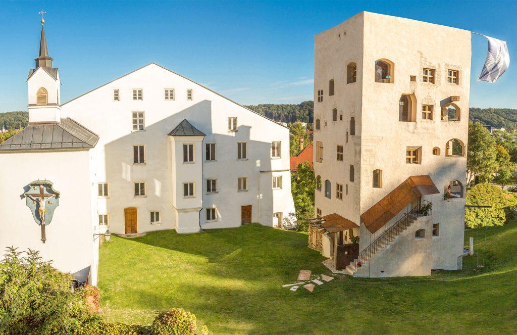 Ferienwohnungen im mittelalterlichen Turm