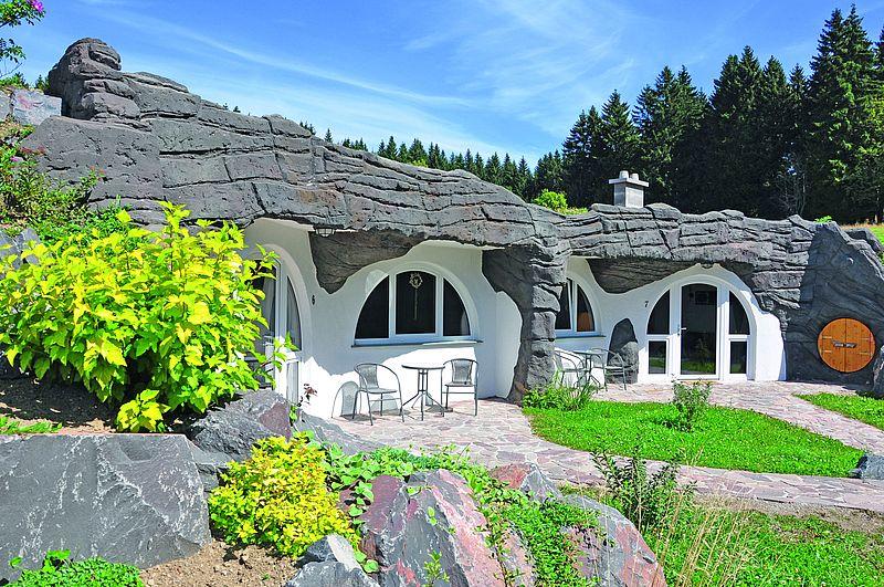 Kurzurlaub im Hobbit-Erdhaus