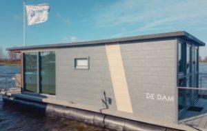 Hausboot Holland De Dam so heißt die außergewöhnliche Unterkunft in Meerparel