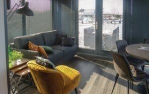 Havenlodge Holland - Uitgeessst Hausboot Hotel