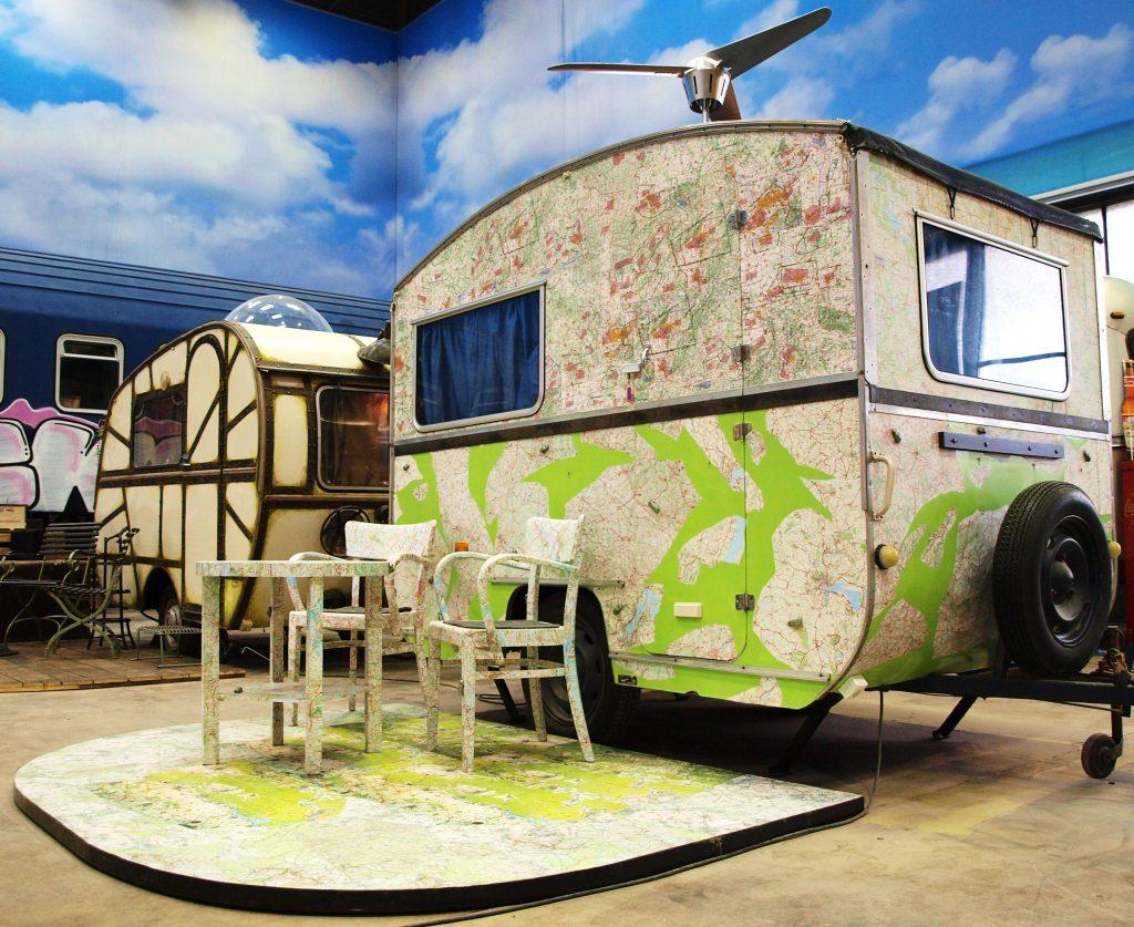 Der Indoor-Campingplatz