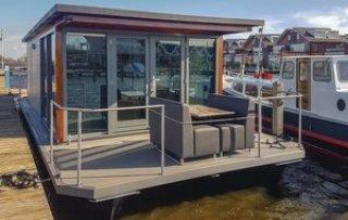 Hausboot Meerparel - Havenlodge in Uitgeest Holland