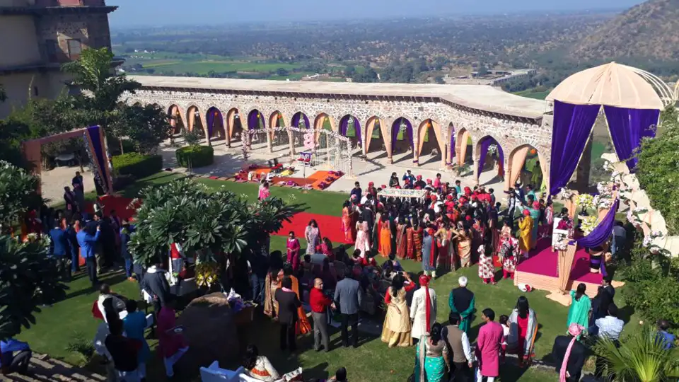 tijara fort palace wedding cost