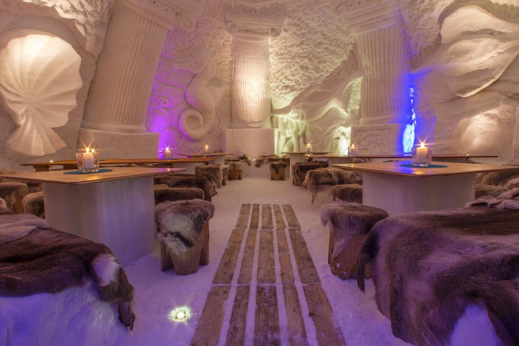 Eishotel in Deutschland