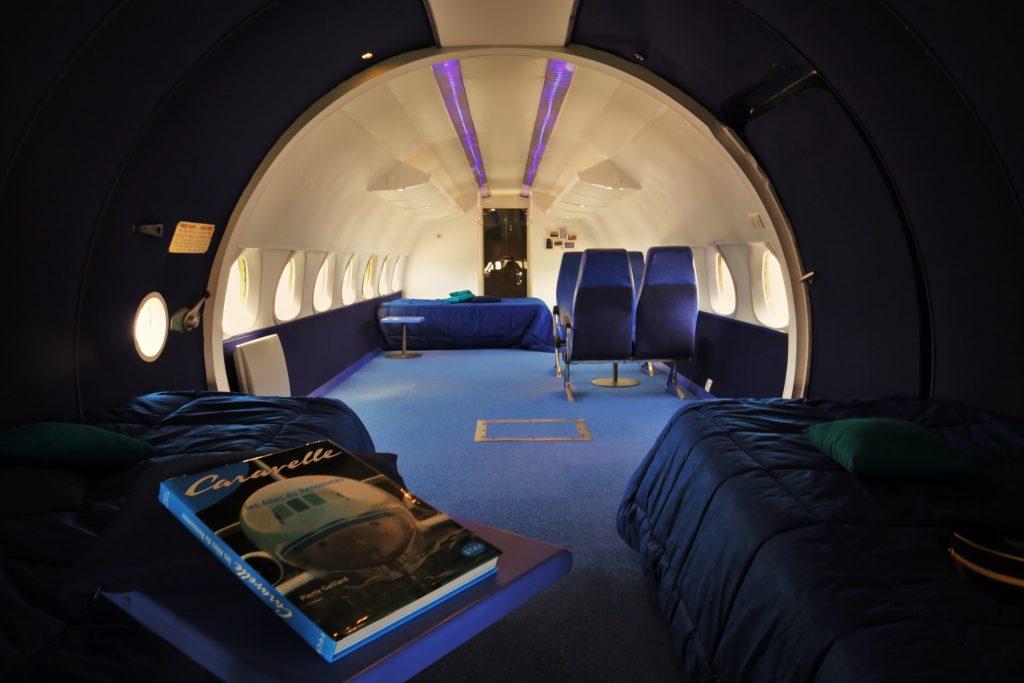 flugzeug hotel -übernachten im flugzeug