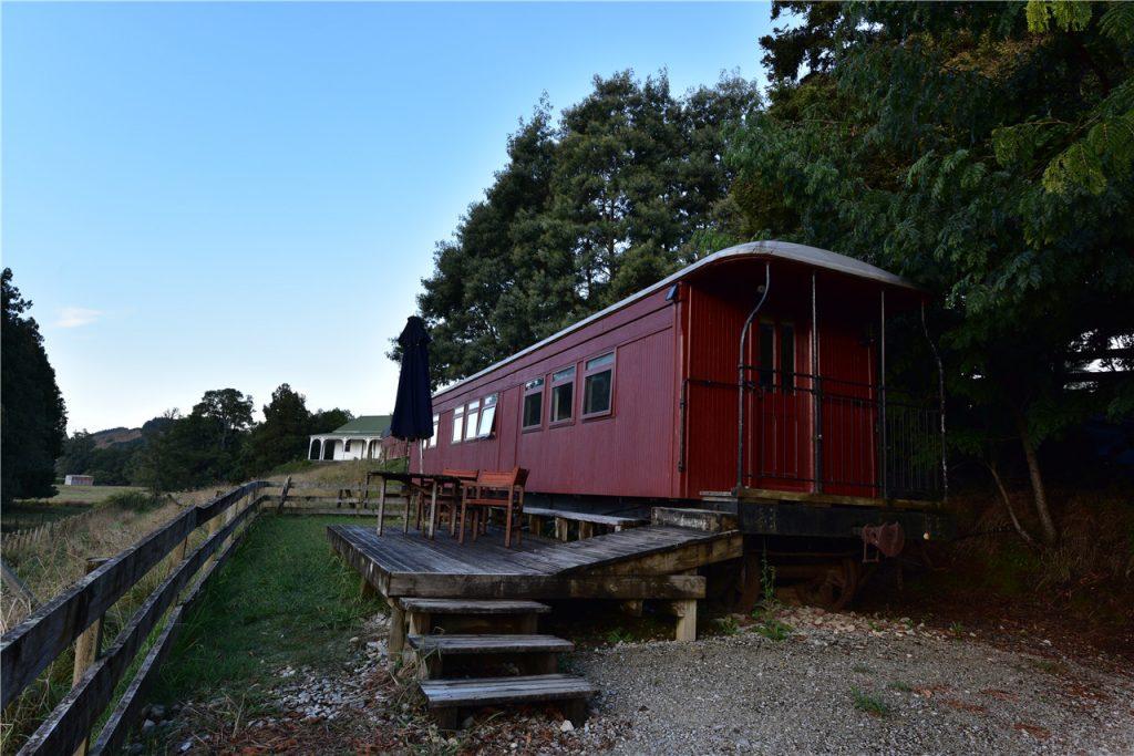 Schlafen Sie mit dem Waitomo Express