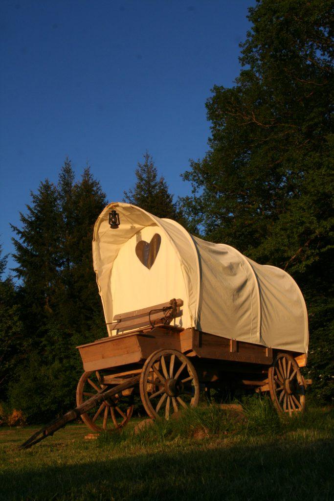 Hütte und Wagen Hotels - cabane et chariot