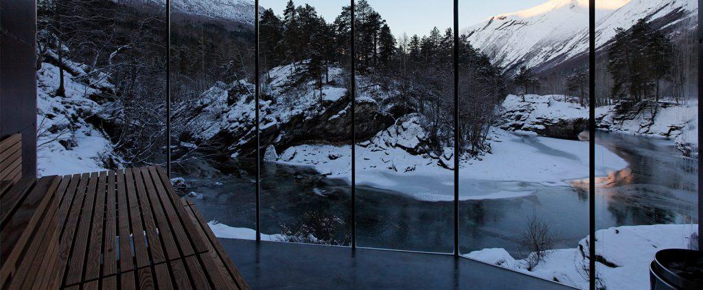 Landschaftshotel in Norwegen